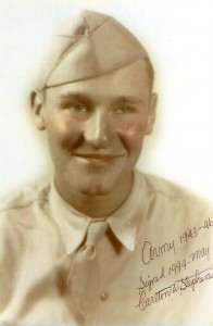 Carlton W. Stephens in his Army uniform