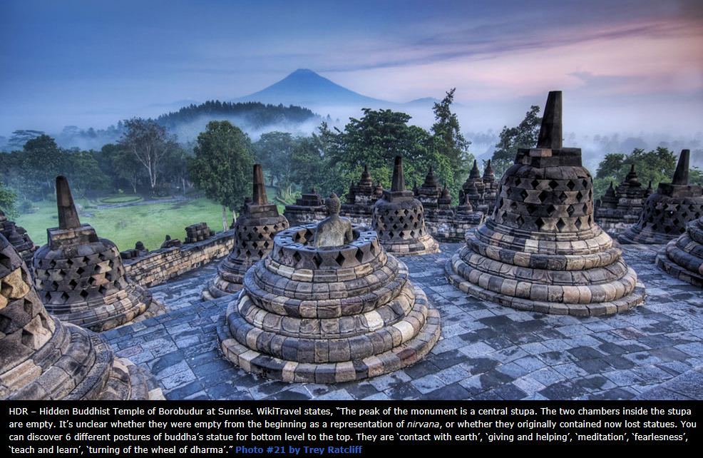 Hidden Borobudur Buddhist Temple