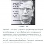 Breaking the Code of Silence Bonhoeffer quote